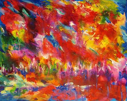 Colors Of My Dream #3 by Helen Kagan