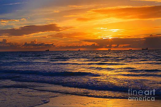 Colors of Sunrise by Nicholas Tancredi