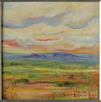 Colors of the Desert by Gedda Runyon Starlin