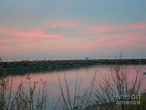 Colors of Water and Sky by Barbara McNeil