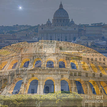 Colosseum and Vatican city by Mats Silvan