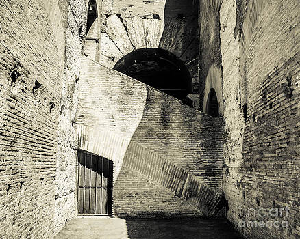 Colosseum Archways I by Christina Klausen