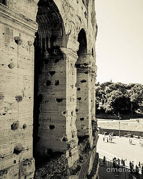 Colosseum Archways III by Christina Klausen