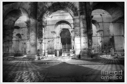 Colosseum Lights - monocrome by Stefano Senise