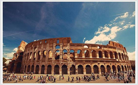 Colosseum Rome by Stefano Senise