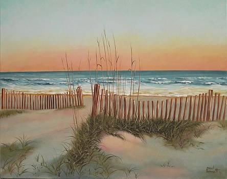 Colour of morning by Paul Bennett