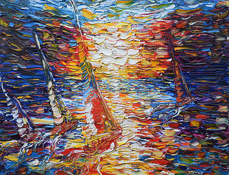 Pete Caswell - Coloured Sails