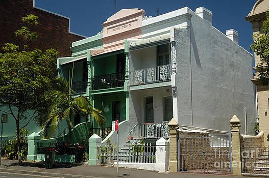 David Hill - Colourful Australian terrace house