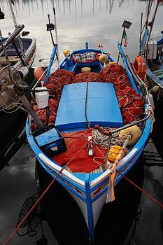 Colourful fishing nets by Paul Indigo