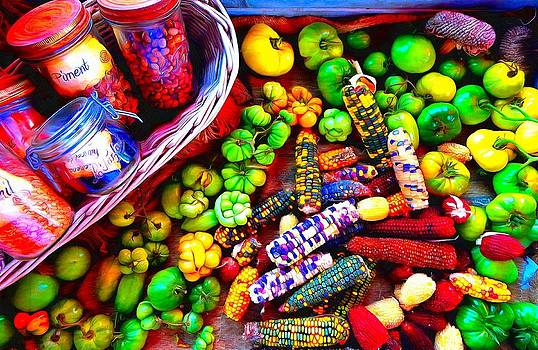 Colourful Harvest by Mick Flynn