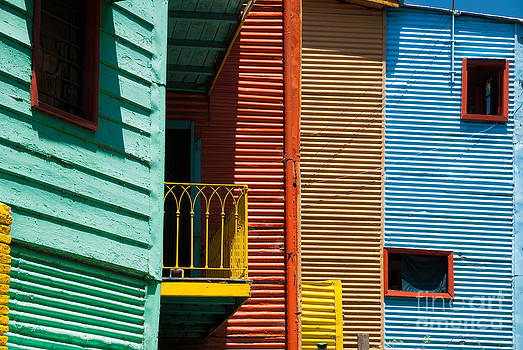 Colourful houses in the colourful quarter of La Boca - Buenos Air by OUAP Photography