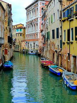Bishopston Fine Art - Colourful Venice