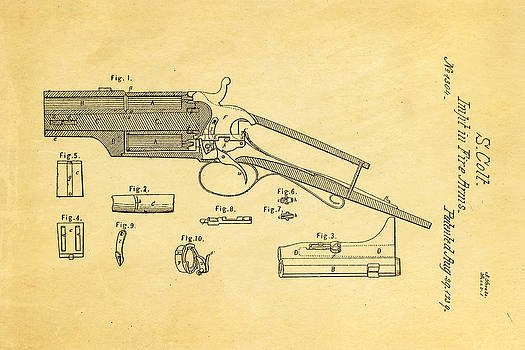 Ian Monk - Colt Pistol Patent Art 1839