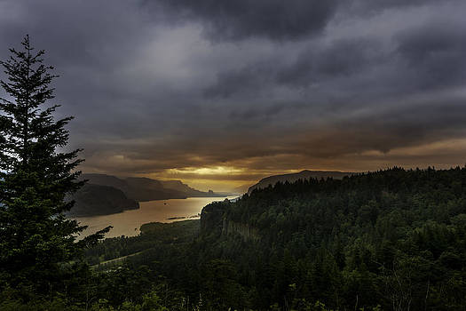 Columbia Gorge by Jean-Jacques Thebault