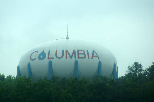 Columbia SC Water Tower by Kim Pate