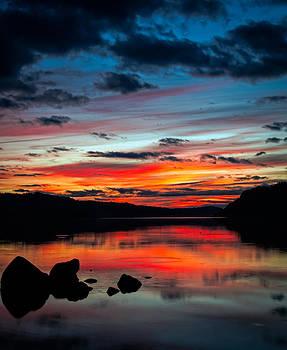 Columbia Sunset by Brian Bonham