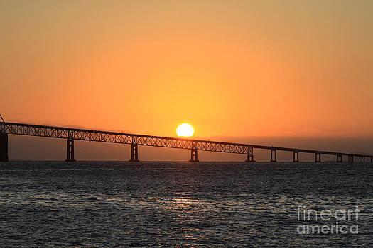 Columbia Sunset by Dawn Kori Snyder