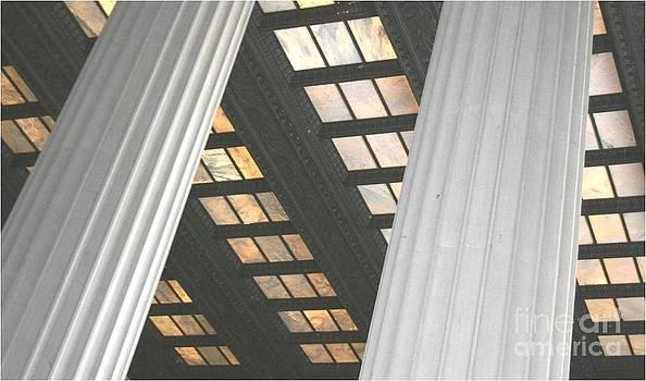 Columns Lincoln Memorial by Patty  Thomas