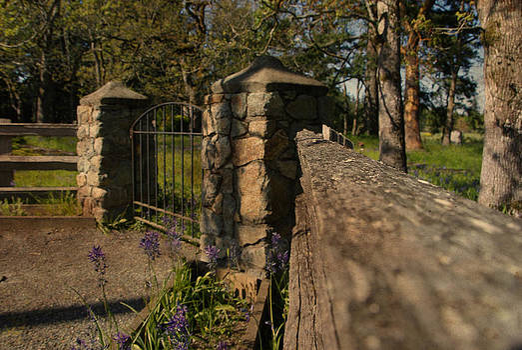 Marilyn Wilson - Colwood Cemetery Gates