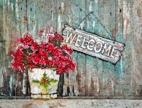 A Warm Welcome by Diane Fujimoto