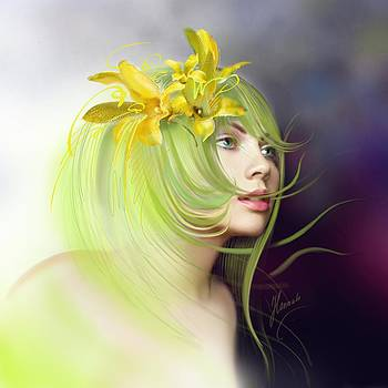 Coming of Spring by Anna Ewa Miarczynska