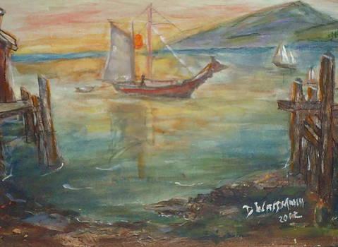 Coming to Dock by Debbie Wassmann