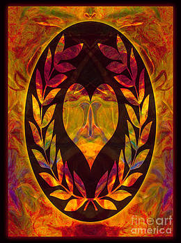 Omaste Witkowski - Commitment and Love Abstract Shapes Artwork