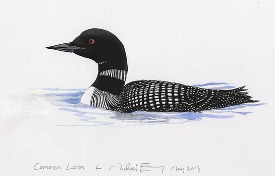 Michael Earney - Common Loon