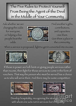Communities - 5 Rules by J. McKnight - G Card by C Todd Creations