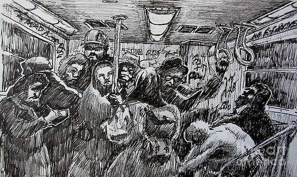 John Malone - Commuters on the Subway