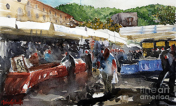 Como the marketplace by Marisa Gabetta