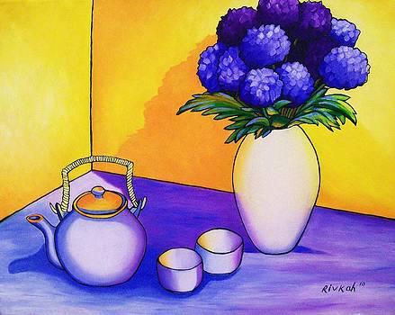 Complimentary tea by Rivkah Singh