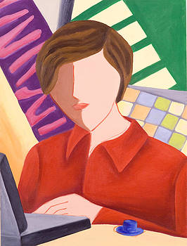 Computer Wiz by Lynn Soehner
