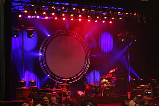 Concert Stage by Michelle Lawrence
