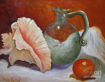 Conch Glass and Ball  by Barbara Haviland