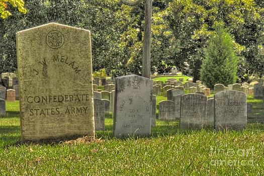 Confederate Graves by Jonathan Harper