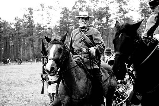 Confederate Officer by Donald Williams