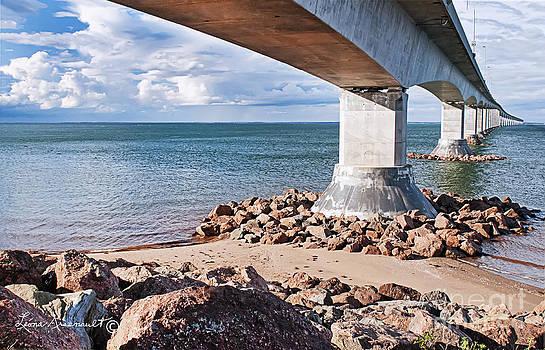 Confederation Bridge by Leona Arsenault