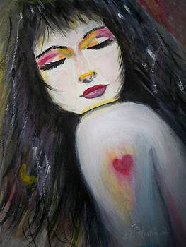 Confident heart by Tammy McClung
