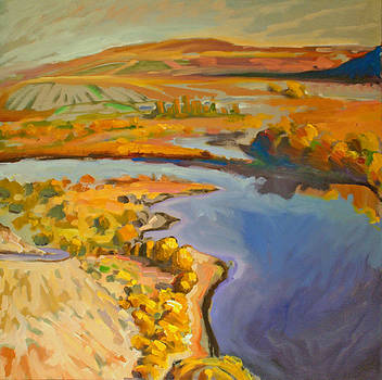 Confluence of the Okanogan by Gregg Caudell