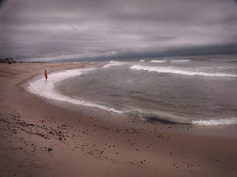 COnfronting the Sea by Bruce Rolff