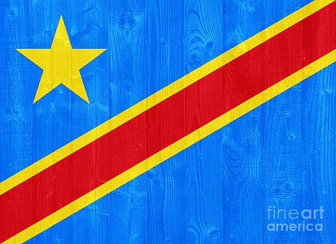 Congo flag by Luis Alvarenga