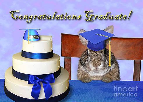 Jeanette K - Congratulations Graduate Bunny Rabbit