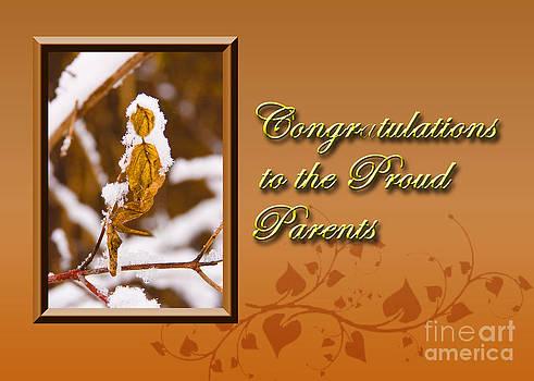 Jeanette K - Congratulations to the Proud Parents Leaf