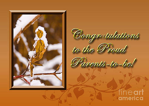 Jeanette K - Congratulations to the Proud Parents to be Leaf