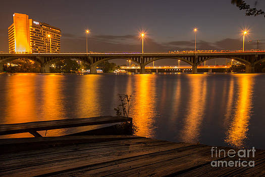 Congress Ave Bridge by Chuck Smith