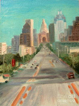 'Congress Avenue Austin' by Keya Majmundar