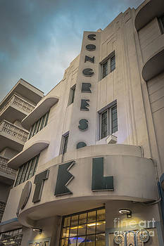 Ian Monk - Congress Hotel Art Deco District SOBE Miami Florida - HDR Style