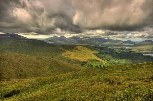 Connemara mountains by John Quinn