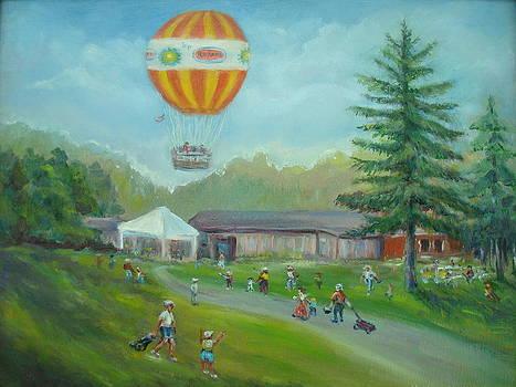 Conner Prairie Balloon by Holly LaDue Ulrich